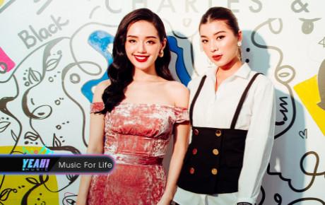 Á quân Đồng Ánh Quỳnh mừng rỡ hội ngộ 'nữ hoàng lookbook' Khánh Linh tại Hà Nội