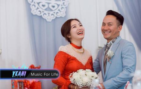 Hậu đám cưới, vợ Tiến Đạt hạnh phúc khoe ảnh rạng rỡ bên chồng