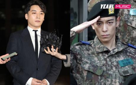"""NÓNG: Seungri chưa hết tội vì bê bối rúng động, giờ lại đến T.O.P dính """"phốt"""" trong quân ngũ"""