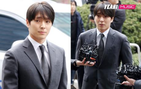 Choi Jong Hoon diện vest lịch lãm hệt như đi thảm đỏ trong ngày ra trình diện cảnh sát