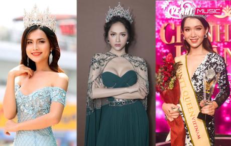 3 Hoa hậu Chuyển giới được công nhận ở Việt Nam: Chưa nhan sắc nào là đối thủ của Hương Giang