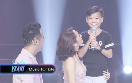 Bảo Anh xúc động khi nghe 'thí sinh đặc biệt' hát hit của Hồ Quang Hiếu