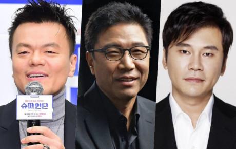 Cổ phiếu của Park Jin Young (JYP) tăng cao từ  sau những lùm xum của Lee Soo Man và Yang Hyun Suk