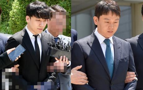 HOT: Seungri chính thức bị còng tay bắt giữ, chồng diễn viên Park Han Byul lộ mặt tại sở cảnh sát