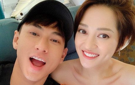 """Giữa nghi vấn """"gương vỡ lại lành"""" với Hồ Quang Hiếu, Bảo Anh bất ngờ đăng hình selfie của Isaac trên trang cá nhân"""