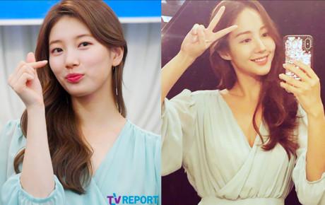 """Màn đụng độ váy áo khó tin của 2 tình cũ Lee Min Ho: Suzy tỏa sáng xứng danh """"tình đầu quốc dân"""", Park Min Young gợi cảm khoe vòng 1 lấp ló"""