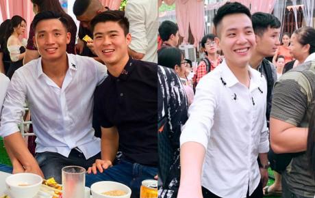 Dàn cầu thủ và sao Việt dự lễ đính hôn của Bùi Tiến Dũng và bạn gái hot girl ở Bắc Ninh