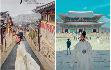 """Chưa đầy 15 triệu đi hết Hàn Quốc, chàng soái ca """"hóa thân vào nam chính ngôn tình"""" với những shoot hình đẹp rụng rời"""