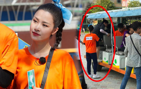 """""""Chồng người ta' Ông Cao Thắng không rời Đông Nhi nửa bước khi ghi hình """"Chạy đi chờ chi"""""""