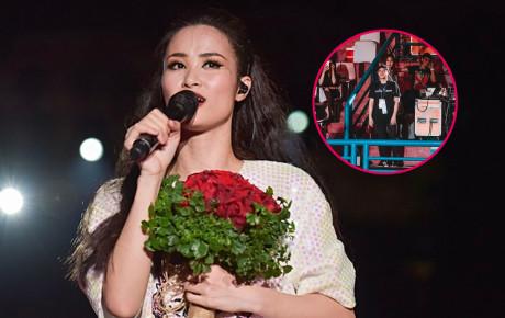 """Nhìn lại khoảnh khắc ngọt ngào Đông Nhi gửi lời cảm ơn đến """"anh yêu"""" Ông Cao Thắng trong liveshow kỷ niệm 10 năm"""