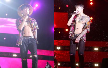 Jay Park  phanh áo khoe body cực phẩm, liên tục nói tiếng Việt trước hàng nghìn fan