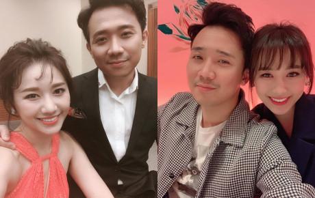 """Hào hứng khoe ảnh cùng bà xã Hari Won, Trấn Thành bị chê """"kém sắc"""" thấy thương"""