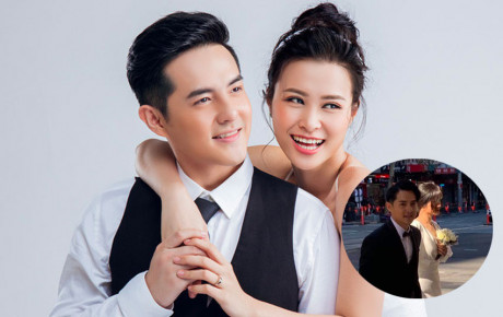 """""""Vợ chồng nhà người ta"""" Đông Nhi - Ông Cao Thắng bị fan bắt gặp khi chụp hình cưới tại Sydney"""