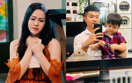 Nhật Kim Anh khóc nhớ con trong khi chồng cũ khoe hình đưa con đi chơi khiến CDM xót xa