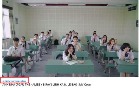 Link Ka vượt qua Chi Pu, MV cover đạt top 1 trending Youtube nhờ trở về đúng lứa tuổi
