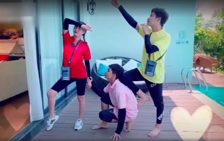 """Dàn sao Running man bản Việt thi nhau bắt trend nóng """"Cục xì lầu ông bê lắc"""""""