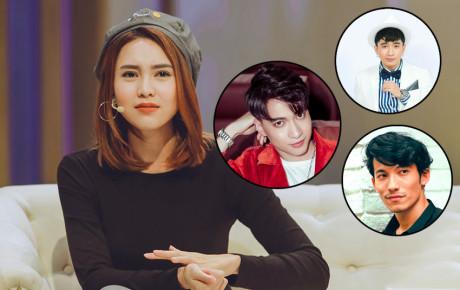 """""""Ngọc nữ"""" hot nhất làng giải trí Ninh Dương Lan Ngọc có tận 3 tin đồn hẹn hò với 3 mỹ nam Vbiz"""