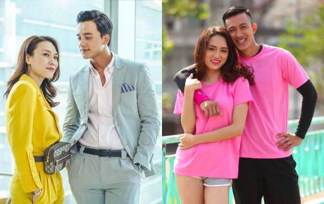 Bên cạnh Mỹ Tâm - Mai Tài Phến, hàng loạt cặp đôi của showbiz Việt cũng được se duyên nhờ các lần hợp tác chung thế này