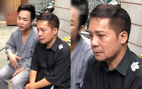 """Minh Nhí bật khóc tại lễ tang của cố nghệ sĩ Anh Vũ :""""Tôi xem nó như em ruột vậy"""""""