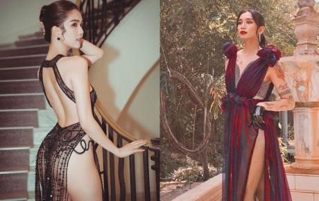 Học hỏi trang phục nóng bỏng của Ngọc Trinh, BB Trần tiết lộ ảnh... lau sàn tại Cannes 2019