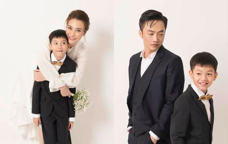 Subeo đẹp trai của mẹ Hồ Ngọc Hà chính là nhân vật chính thứ 3 xuất hiện trong album cưới lung linh của Cường Đô La và Đàm Thu Trang