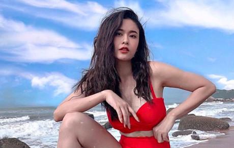 """Trương Quỳnh Anh khoe dáng nuột trong trang phục bikini sau lùm xùm bị chồng cũ """"đá xoáy"""" lúc nửa đêm"""