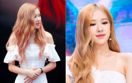 """Nữ idol Kpop biến thành """"thiên thần áo trắng"""": Rosé tinh khiết như pha lê, Nancy nổi bật với màu tóc xanh"""