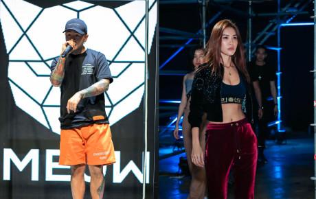 Sau bộ ảnh nóng bỏng mắt, cặp đôi BinZ và Minh Tú kết hợp biểu diễn mở màn cho sự kiện thời trang đình đám