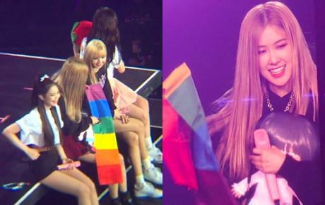 Một lần nữa, Rosé khiến cộng đồng LGBT xúc động khi công khai ủng hộ tình yêu giữa fangirl và bạn gái