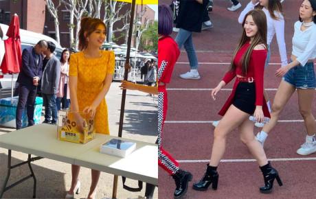 """""""Thử thách no filter"""", liệu Nancy hay Somi sẽ là """"bông hồng lai"""" xinh xắn nhất?"""