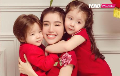 Mẹ bỉm sữa hot nhất showbiz Việt Elly Trần: 2 con xinh như thiên thần, ông xã điển trai như tài tử