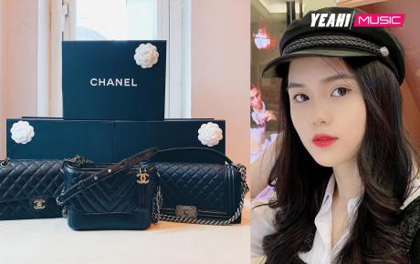 """Tết chưa đến, Quỳnh Anh đã được """"bạn trai quốc dân"""" Duy Mạnh tặng túi Chanel Boy trăm triệu, khiến hội chị em ghen tị hết sức"""