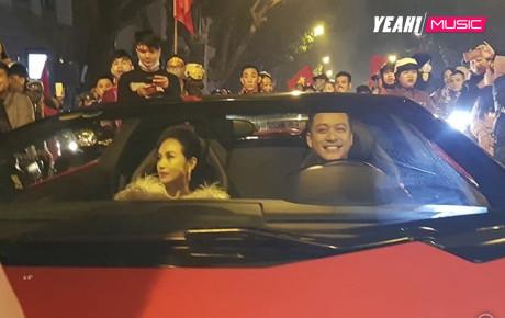 Chơi độc như Tuấn Hưng, lái siêu xe 16 tỉ cùng vợ đi bão sau chiến tích của đội tuyển Việt Nam