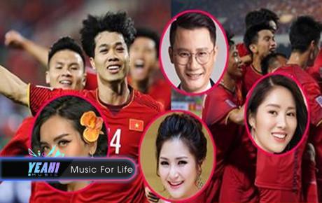 Sao Việt hào hứng tột độ trước chiến thắng của Việt Nam với Malaysia, chú ý nhất là BB Trần