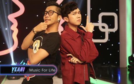 Minh Xù giành show của Hoàng Rapper ngay trên sóng truyền hình