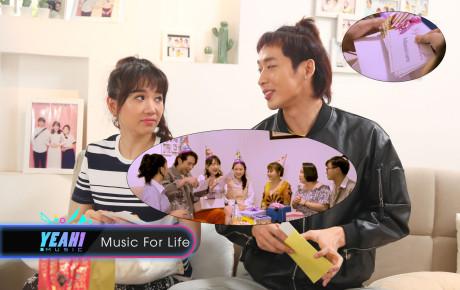 Lê Giang tặng voucher làm đẹp cho Hari Won và Tuấn Trần khiến cặp song sinh méo mặt