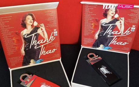 Thanh Thảo phát hành album là móc khóa USB sau liveshow