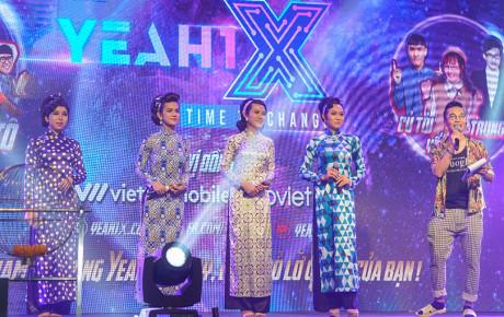 """Su Su, Năm Chà và """"ngọc nữ lô tô"""" Tâm Thảo trình diễn Cô Ba Sài Gòn tại sự kiện ra mắt ứng dụng Yeah1X"""