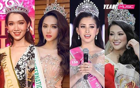 4 nàng Hậu Việt đăng quang năm 2018: Không ai qua được Hương Giang về điều đặc biệt này!