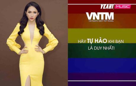 Vietnam's Next Top Model 2019 đăng hình ảnh cờ LGBT, fan phấn khích gọi tên Hương Giang