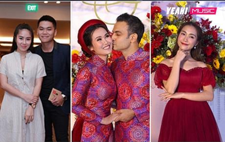 Dàn sao Việt tấp nập tới dự đám cưới cổ tích của Võ Hạ Trâm và chồng Ấn Độ