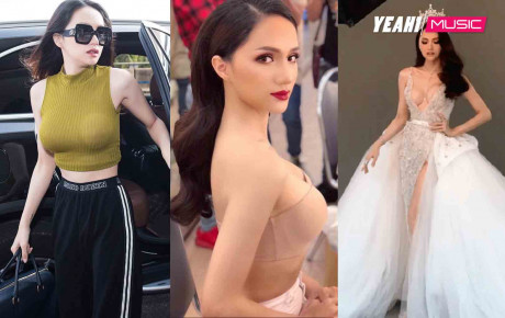 Trước khi hết nhiệm kì, Hoa hậu chuyển giới Hương Giang liên tục khiến ai nấy giật mình vì vòng 1 quá khác biệt