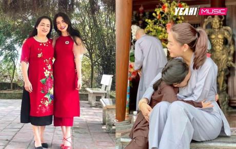 Đi lễ chùa, sao Việt khen ăn mặc tinh tế, duy nhất một người bị lên án
