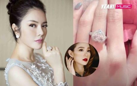 """Hội mỹ nhân Việt sở hữu nhẫn kim cương đính hôn đắt giá nhất Vbiz: Nhìn Lý Nhã Kỳ đã choáng ngộp rồi, không ngờ Minh Hằng còn """"khủng"""" hơn"""