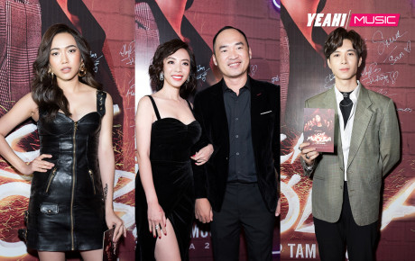 """Dàn sao khủng nô nức đến chúc mừng """"Chị Mười Ba"""" của vợ chồng Thu Trang - Tiến Luật"""