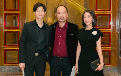 """Thu Trang - Tiến Luật - Anh Tú cùng đi đám cưới, ai cũng ngỡ như """"gia đình 3 người"""""""