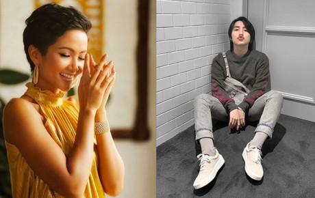 Phản ứng 'tẩm ngẩm tầm ngầm' đích thực fangirl của H'Hen Niê khi thấy Sơn Tùng được khen đẹp trai, vừa trắng lại vừa giàu