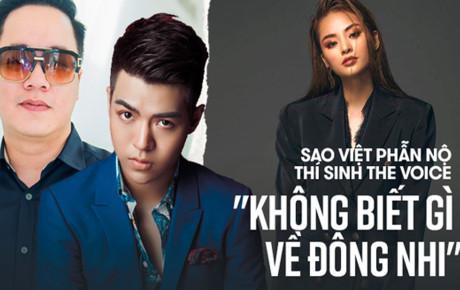 """Thí sinh Giọng hát Việt """"đụng chạm"""" Đông Nhi: Đỗ Hiếu đáp trả sâu cay, Tùng Leo gay gắt lên án"""