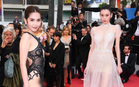 Cannes ngày 5: Ngọc Trinh đốt mắt với trang phục gây choáng bên Hoa hậu đẹp nhất Thế giới và dàn mỹ nhân gợi cảm