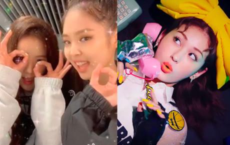 """Giữa lúc YG lao đao vì scandal của nhóm nhạc đàn anh, Jennie và Jisoo """"quẩy điên đảo"""" để PR dạo cho đàn em mới debut"""